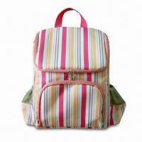 Wholesale Cooler Backpack with PEVA Lining and Front Zipper Pocket, Made of 300D Polyester from china suppliers