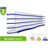 Wholesale Fashionable Double Side Convenience Store Shelves , Retail Display Racks Wave Shaped from china suppliers