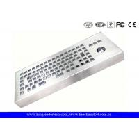 Wholesale Desktop Rugged Stainless Steel IP65 Rated Keyboard With 86 Full Travel Keys from china suppliers