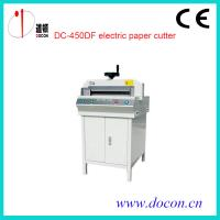 Wholesale DC-450DF electric paper guillotine from china suppliers