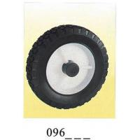 Buy cheap Industrial black rubber single wheel Diamond 096 from wholesalers