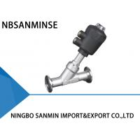 Wholesale Water Oil Steam Air Seat Valve Pneumatically Operated Environmentally Friendly from china suppliers