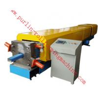 Wholesale Automatic Water Drainage Pipe Roll Forming Machine / Metal Eaves Gutter Equipment from china suppliers