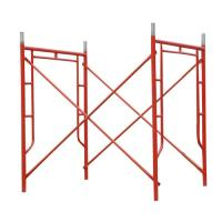 Wholesale Red Powder Coated Tubular Steel Frame Scaffolding 1524 x 1524 mm from china suppliers