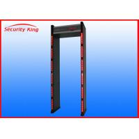 "Wholesale 18 Detections Zone Walk Through Metal Detector XST-F18 With 3.7"" LCD Display from china suppliers"