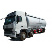 Wholesale SINOTRUK HOWO A7 Bulk Cement Truck 371HP 8X4 LHD 25 - 43CBM Cement Tanker Truck from china suppliers