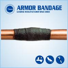 Buy cheap High Strength Oil Gas Plumbing Pipe Leak Repair Bandage/Kit Anti-corrosion Online Leak Sealing Tape from wholesalers
