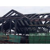 Quality Prefabricated Building Steel Frame For A Structure Steel Hotel for sale