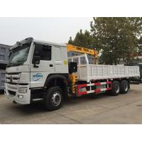Wholesale 4X2 LHD Truck Mounted Telescopic Boom Crane 5 Tons For Bridge Engineering from china suppliers