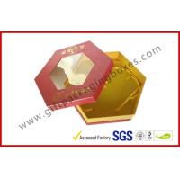 Wholesale Octangle Chocolate Packaging Boxes / Window Boxes Hot Stamping Boxes from china suppliers