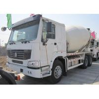 Wholesale Yellow 290 HP Concrete Mixer Trucks With Mixer Tank 6 Cubic Meters from china suppliers