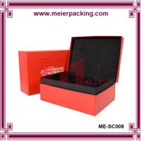 Wholesale Custom Cardboard Clamshell Paper Jewelry  Set Gift Box/Rectangular Gift Clamshell Box ME-SC008 from china suppliers