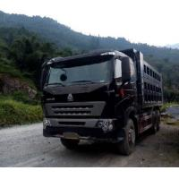 Wholesale SINOTRUK HOWO A7 Euro2 Dump turck / tipper truck with spare parts red color for clayey samd in wet site from china suppliers