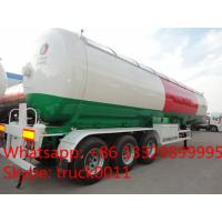 Wholesale 57cbm 3 axle LPG tanker semi-trailer for propane for sale, BPW 57,000Liters propane gas road transported tank for sale from china suppliers