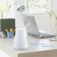 100ml Ultrasonic Cool Mist Portable Air Humidifier with Color LED Light Changing and Waterless Auto Shut-off Function fo