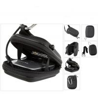 Wholesale Black Zipper Digital Camera Pouches With Carrying Strap , EVA Pouches from china suppliers