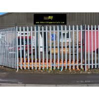 Wholesale High quality Hot dipped Galvanized palisade fencing,China supplier from china suppliers