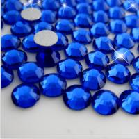 Wholesale capri blue flatback strass crystal stones for Phone case/DIY accessories crystal from china suppliers