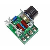 Wholesale 2000W 220V AC SCR Electric Voltage Regulator Motor Speed Control Controller from china suppliers