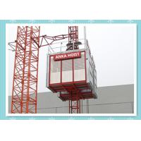 Quality Passenger / Construction Materials Building Hoist Elevator With Frequency Control System for sale