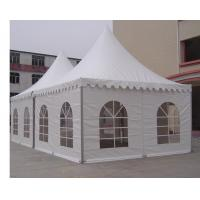 Wholesale Outside Luxury Garden Canopy Tent With Double PVC Opaque Self Cleaning Cloths from china suppliers