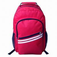 Wholesale School Bag/School Backpack, Measures 30 x 18 x 44cm with 210D Polyester Lining, Two Front Pocket from china suppliers