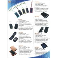 Wholesale Mobilep hone solar charger from china suppliers