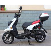 Quality Electric / Kick Starting 50cc Adult Motor Scooters With 1 Big Head Lights for sale