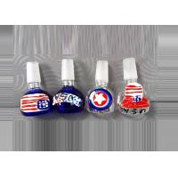 Wholesale Beautiful Borosilicate Glass Bowl Glass Joint  Glass Adapters for Bongs Rigs Water Pipes from china suppliers