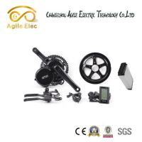 Wholesale Geared Motor Bafang Electric Bike Kit , Powerful  Mountain Bike Electric Motor Kit from china suppliers