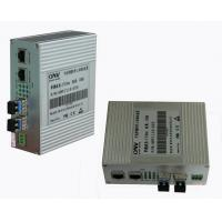 Wholesale Gigabit Ethernet Industrial Media Converter 10M / 100M / 1000M With RJ-45 Interface from china suppliers