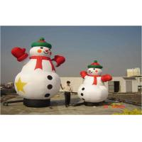 Wholesale 6 m High White Oxford Cloth Christmas Decorations Inflatable Snowman Placed Square Park Mall Decoration from china suppliers