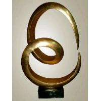 Wholesale bronze abstract sculpture for home decoration from china suppliers