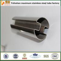 Buy cheap Stainless Steel Tube Fabricating JIS SUS316L slotted stainless steel pipes from wholesalers