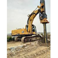 Wholesale Rotary Drilling Equipment / Rotary Piling Rig Modules Type Black and Yellow from china suppliers