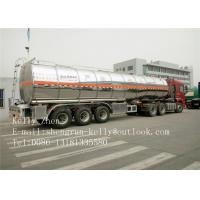 Wholesale Petrol 3 Axle Oil Fuel Tanker Trailer Polar Tank And Trailer from china suppliers