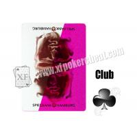 Wholesale Poker Games Invisible Playing Cards / Arrow Paper Playing Marked Cards from china suppliers