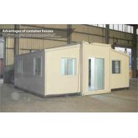 Wholesale Extended Foldable Storage Container House With Glass Sliding Door from china suppliers