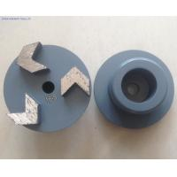 Wholesale 3'' 3 Arrow Seg Diamond Grinding Plugs from china suppliers