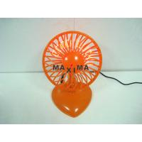 Wholesale 5V Home, Office Programmable Message Mini USB Flashing Fan with GOOD LUCK from china suppliers