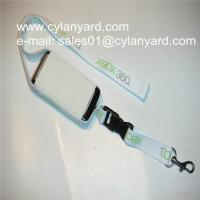 Wholesale Stretchable phone pouch lanyards, spandex phone holder ribbons from china suppliers