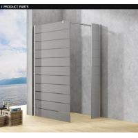 Wholesale Frosted Custom Glass Shower Doors For Baths , Frosting Frameless Glass Shower Screen / Cabin from china suppliers