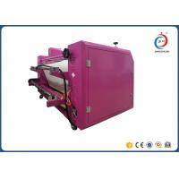 Quality Automatic Sublimation Pink Oil  Roller Heat Transfer Machine CE for sale