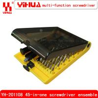 Wholesale YH-201108 Senior screwdriver set disassemble repair tools with sleeve from china suppliers