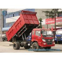 Wholesale Foton 2 Axles Garbage Trucks 5000kgs 6000kgs Dump 4 x 2 Drive from china suppliers