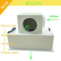 Wholesale Low Noise 65bBA Clean Room Blower Fan Filter With Large Airflow 0.35 - 0.75m/S Speed from china suppliers