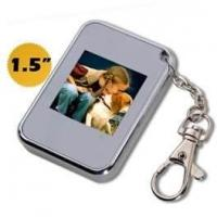Wholesale ROHS personalised Mini digital photo keychain with LCD display 8MB built-in flash memory from china suppliers