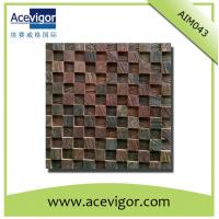 Wholesale Natural solid wood mosaic for wall decoration from china suppliers