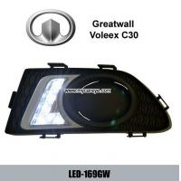 Wholesale Greatwall Voleex C30 DRL LED Daytime Running Lights driving light kit from china suppliers