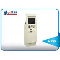 Wholesale 22 inch electronic Windows self service kiosk terminal with bill acceptor from china suppliers